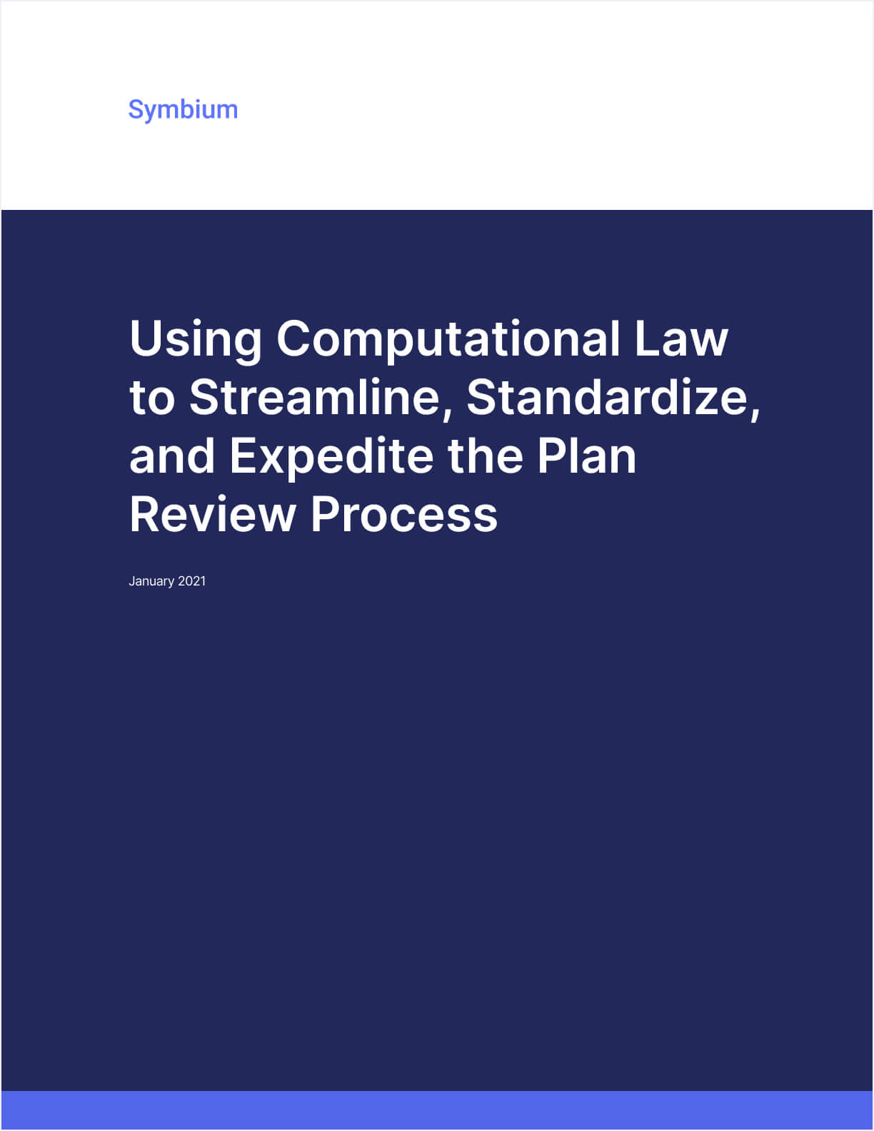 Thumbnail of Using Computational Law To Streamline, Standardize And Expedite the Plan Review Process